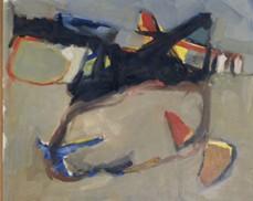 Torres, Jorge; s/t. 1982. Óleo sobre madera, 50 x 60 cm. Colección del Museo Emilio Caraffa